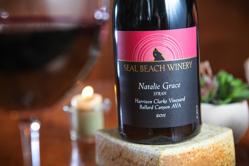 2011 Natalie Grace Syrah Harrison Clarke Vineyard Ballard Canyon