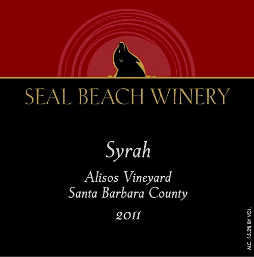 2011 Syrah Alisos Vineyard, Santa Barbara