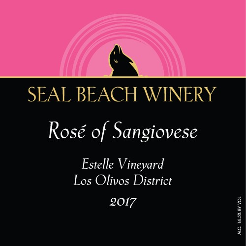 2017 Rosé of Sangiovese Estelle Vineyard Los Olives District
