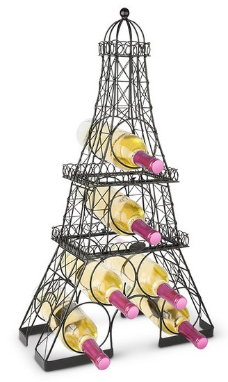 Eiffel Tower 3-Piece Wine Rack