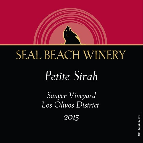 2015 Petite Sirah Sanger Vineyard Los Olivos District