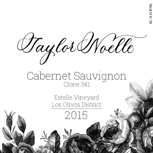 2015 Cabernet Sauvignon Clone 341, Estelle Vineyard, Los Olivos District Image