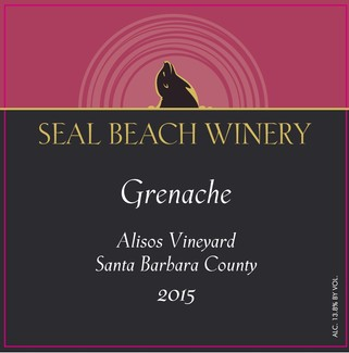 2015 Grenache Alisos Vineyard Santa Barbara County