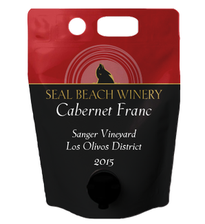 Growler 1.5L 2015 Cabernet Franc Sanger Vineyard