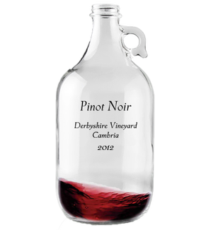 Growler 1.9L Pinot Noir Derbyshire Vineyard