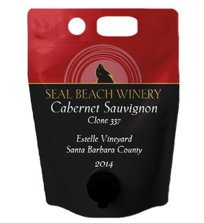 Growler 1.5L 2014 Cabernet Sauvignon Clone 337 Estelle Vineyard