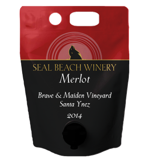 Growler 1.5L Merlot Brave & Maiden Vineyard