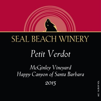2015 Petit Verdot McGinley Vineyard Happy Canyon of Santa Barbara