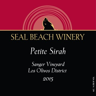 2015 Petite Sirah Sanger Vineyard Los Olivos District Image
