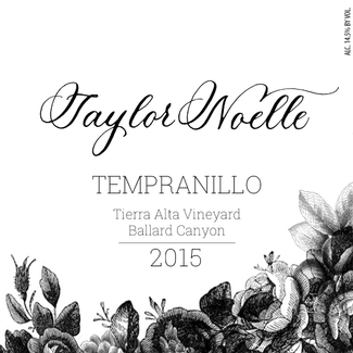 2015 Tempranillo Tierra Alta Vineyard Ballard Canyon